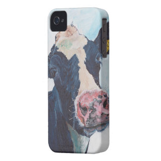 iPhone 4の穹窖ID™ - 0254人のアイルランド人のFriesian牛 Case-Mate iPhone 4 ケース