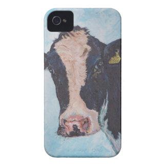 iPhone 4の穹窖ID™ - 0566人のアイルランド人のFriesian牛 Case-Mate iPhone 4 ケース