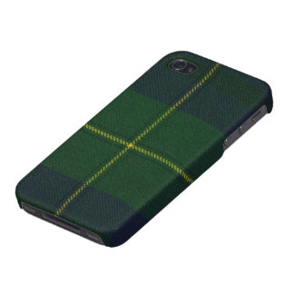 iPhone 4のJohnstoneのモダンなタータンチェックの精通した箱 iPhone 4/4Sケース