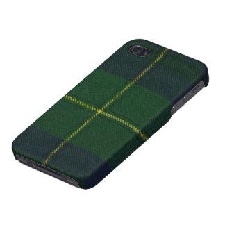 iPhone 4のJohnstoneのモダンなタータンチェックの精通した箱 iPhone 4/4S ケース