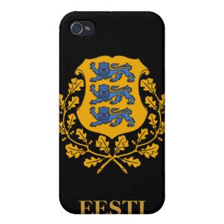 iPhone 4カバー-エストニア語の頂上かEesti Vapp iPhone 4/4Sケース