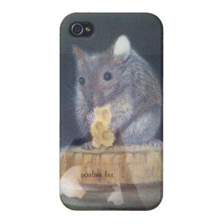 iphone 4ケース、マウスのeastingチーズ iPhone 4/4S ケース