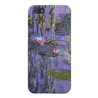 iphone 4ケース-水ユリ iPhone 5 カバー