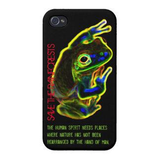 iphone 4ケース: 雨林を救って下さい iPhone 4/4S cover