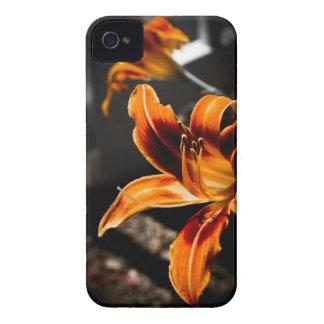 iPhone 4/4sの場合-オレンジ赤のワスレグサ Case-Mate iPhone 4 ケース