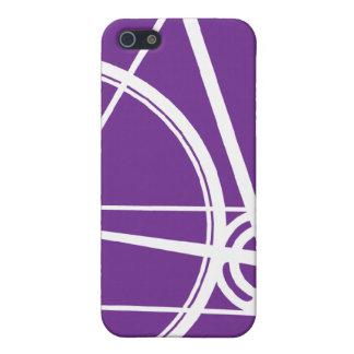 iPhone 4/4S紫色周期カバー iPhone 5 Case