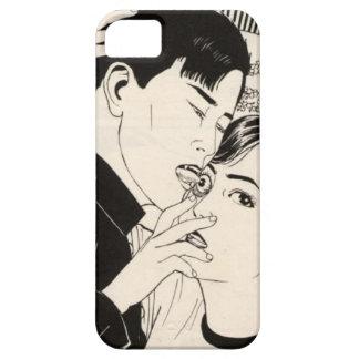 iphone 4,5,6のための電話箱を舐める眼球 ++ iPhone SE/5/5s ケース