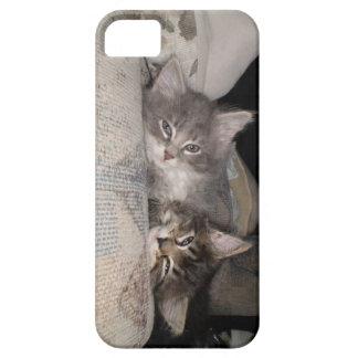 Iphone 5つの愛らしい動物の例 iPhone SE/5/5s ケース