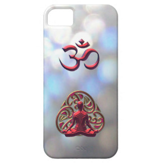iPhone 5のための王室のなケルト族の黙想のOM記号 iPhone SE/5/5s ケース