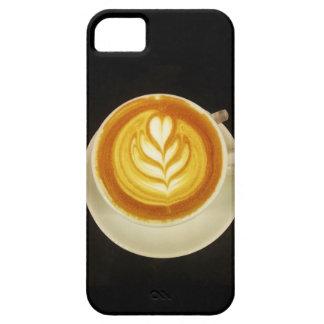 iPhone 5のコーヒー芸術の場合 iPhone SE/5/5s ケース