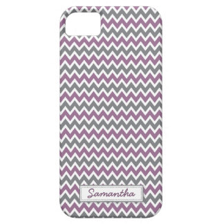 iPhone 5のシェブロンパターン穹窖の箱(薄紫) iPhone SE/5/5s ケース