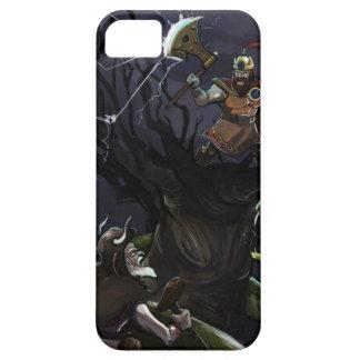 Iphone 5のスラブのMytologyの例 iPhone SE/5/5s ケース