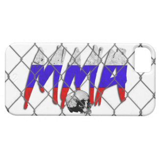 iPhone 5のロシアMMAの白 iPhone 5 Cover