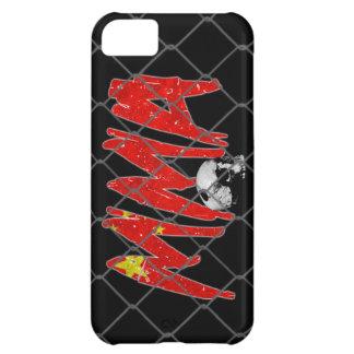 iPhone 5の中国MMAの黒 iPhone 5C ケース