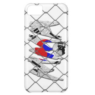 iPhone 5の南朝鮮MMAの白 iPhone 5C ケース