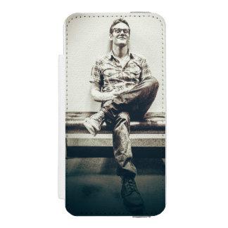 iphone 5の吸血鬼日記の札入れの携帯電話の箱 incipio watson™ iPhone 5 財布 ケース
