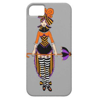 iPhone 5の場合の暗くビクトリアンなサーカスの女の子 iPhone SE/5/5s ケース
