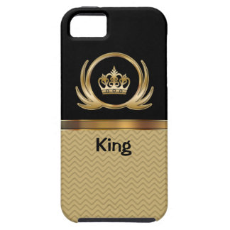 iPhone 5の場合の王室のな王 iPhone SE/5/5s ケース