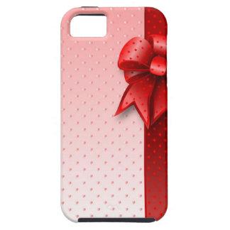 iPhone 5の場合の赤い弓 iPhone SE/5/5s ケース