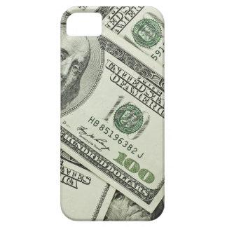iPhone 5の場合100つのドル札 iPhone SE/5/5s ケース