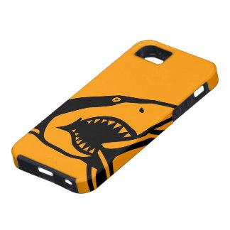 iPhone 5の場合Mate™の鮫のオレンジ iPhone SE/5/5s ケース