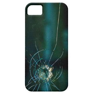 Iphone 5の壊れたガラス容器 iPhone SE/5/5s ケース