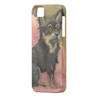 Iphone 5の携帯電話の箱のカスタムなチワワ犬 iPhone SE/5/5s ケース