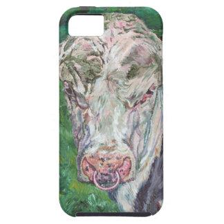 iPhone 5の穹窖のTough™のアイルランドのFriesian Bull iPhone SE/5/5s ケース