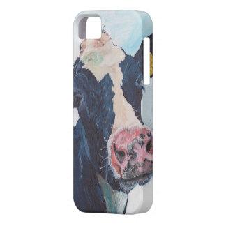 iPhone 5の穹窖ID™ - 0254人のアイルランド人のFriesian牛 iPhone SE/5/5s ケース