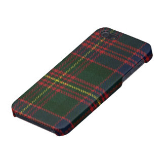 iPhone 5の精通したカーネギーモダンなタータンチェックのプリント iPhone SE/5/5sケース