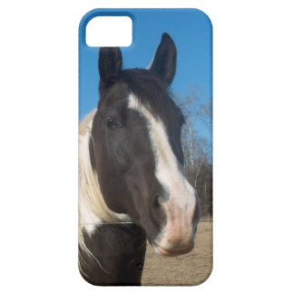 iPhone 5の馬の例 iPhone SE/5/5s ケース