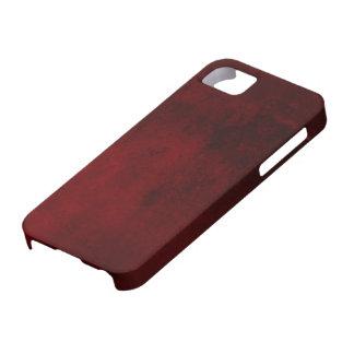 iPhone 5のCase mateの赤い大理石の箱 iPhone 5 ベアリーゼアケース