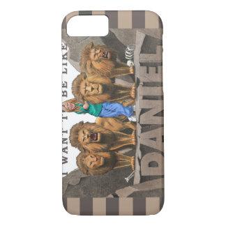 iPhone 5カバー-私はダニエルのようでありたいと思います-女性 iPhone 8/7ケース