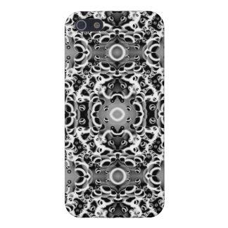 iPhone 5場合の精通したサイケデリックな視野 iPhone SE/5/5sケース