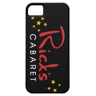 iPhone 5/5Sのためのリックのキャバレーの黒カバー iPhone SE/5/5s ケース