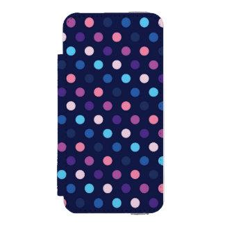iPhone 5/5sのウォレットケースの水玉模様 Incipio Watson™ iPhone 5 財布 ケース
