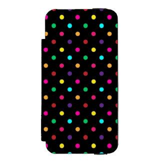 iPhone 5/5sのウォレットケースの水玉模様 iPhone SE/5/5sウォレットケース