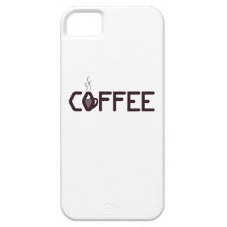 iPhone 5/5Sのコーヒー常習者 iPhone SE/5/5s ケース