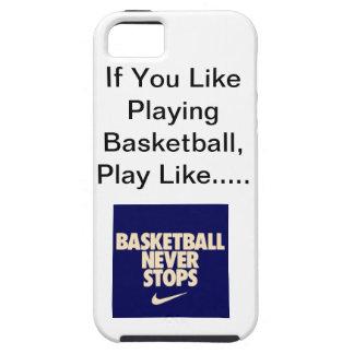 Iphone 5/5sのバスケットボールの場合 iPhone SE/5/5s ケース