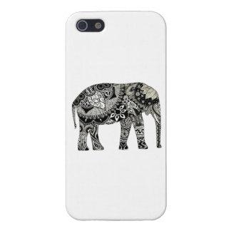 iPhone 5/5Sの光沢のある終わり象の例 iPhone 5 Case