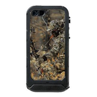 iPhone 5/5sの地図書ID™の黒い弓ハンター ウォータープルーフiPhone SE/5/5sケース