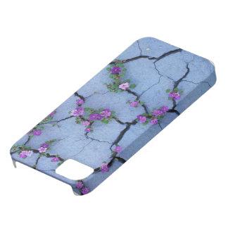 Iphone 5/5Sの場合の美しい紫色の花のcaracks iPhone SE/5/5s ケース