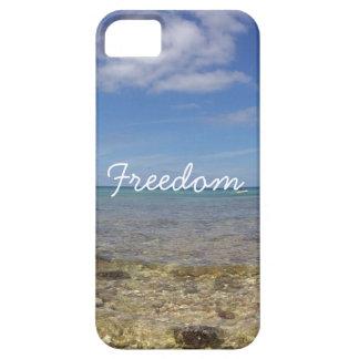 Iphone 5/5sの場合の自由の引用文の写真撮影 iPhone SE/5/5s ケース