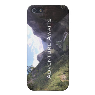 Iphone 5/5sの場合-冒険は写真撮影を待ちます iPhone SE/5/5sケース
