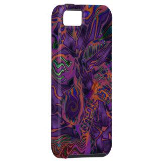 """Iphone 5/5Sの場合""""紫色のコロイド錬金術"""" iPhone SE/5/5s ケース"""