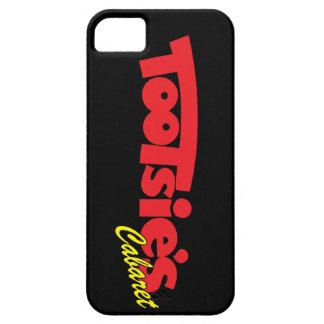 iPhone 5/5Sののためのトッツィーのキャバレーの黒カバー iPhone SE/5/5s ケース