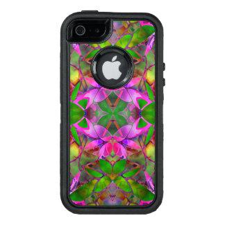 iPhone 5/5s/SEの場合の花のフラクタルの芸術