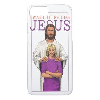 iPhone 5 Case_IはJesus_Femaleのようでありたいと思います iPhone 8/7ケース