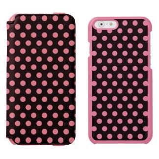 iPhone 6つのウォレットケースの水玉模様 Incipio Watson™ iPhone 6 財布ケース