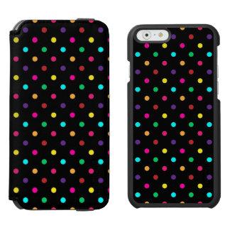 iPhone 6つのウォレットケースの水玉模様 iPhone 6/6sウォレットケース
